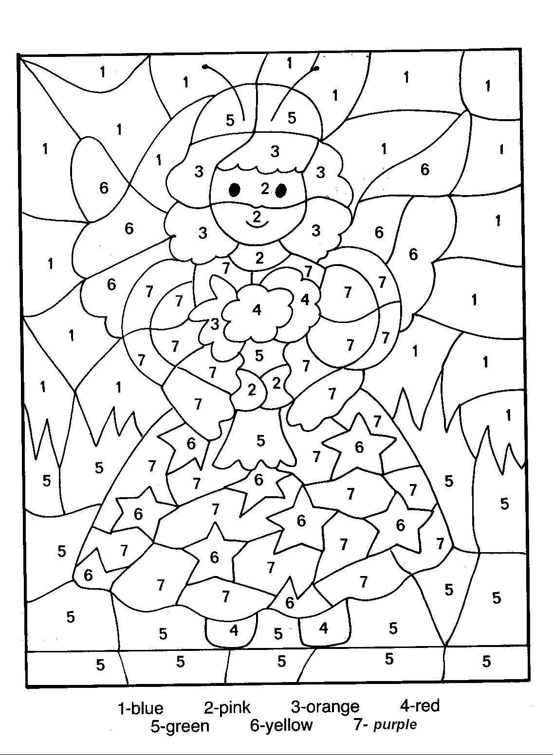 Number Coloring Pages 13