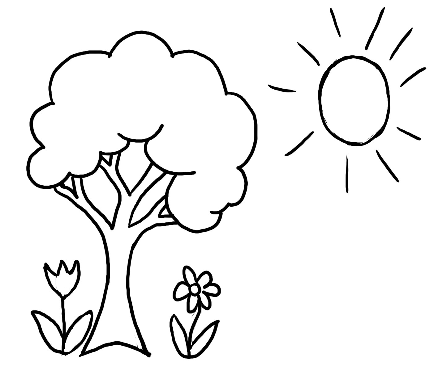 Preschool Coloring Pages 3