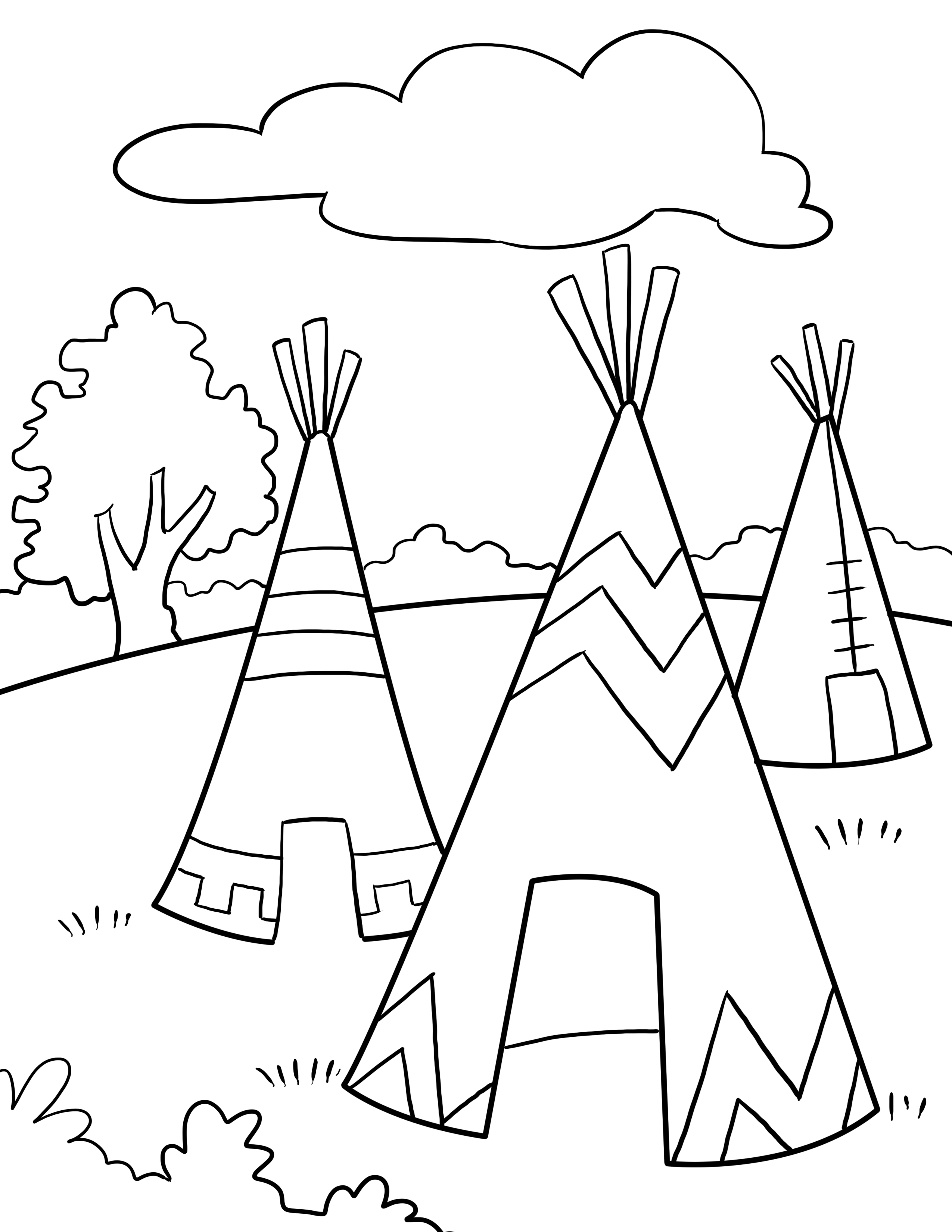 Thanksgiving Coloring Pages 2