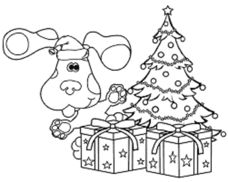 Blue S Clues Coloring Lesson Kids Coloring Page Coloring Lesson Free Printables And Coloring Pages For Kids