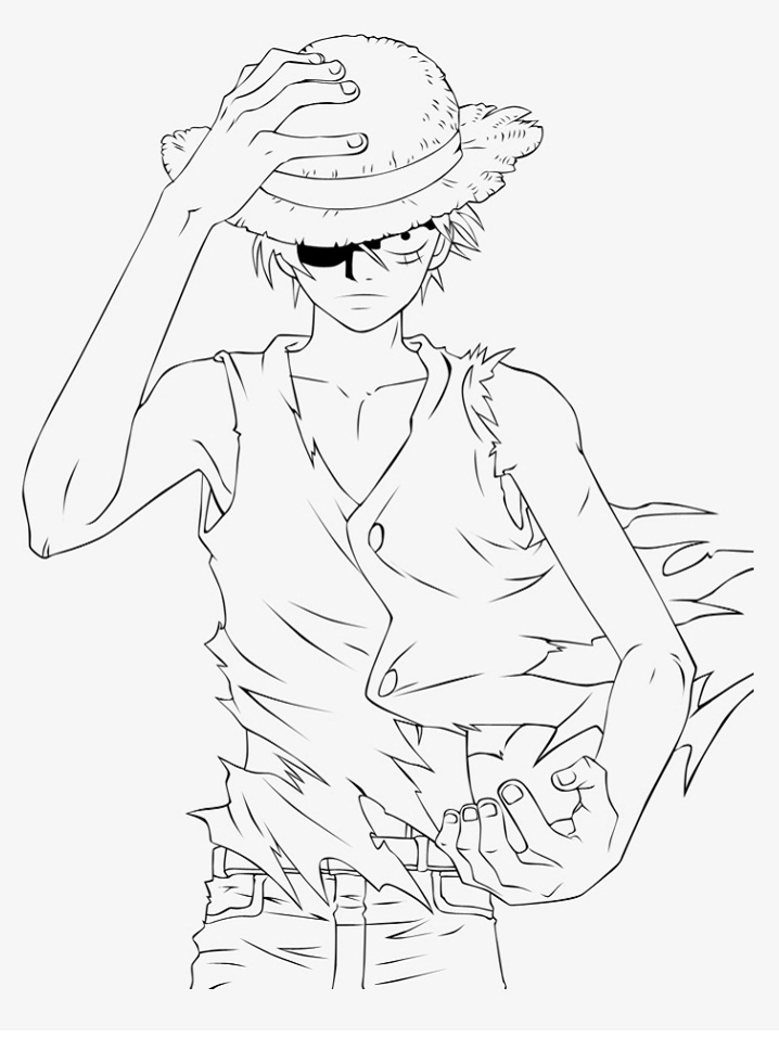 Coloring books can be good tools to explain surgery to your child. Luffy Gets Angry Coloring Page Free Printable Coloring Pages For Kids