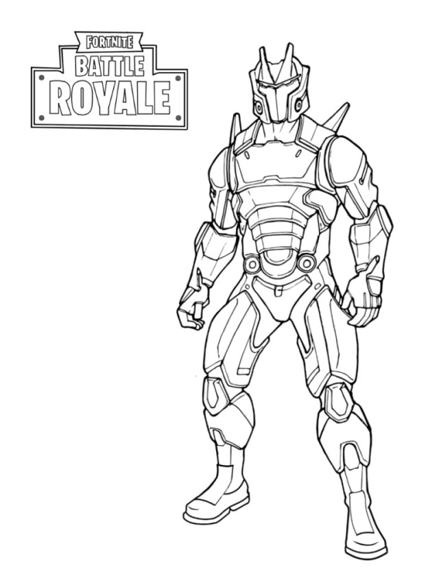 Omega Fortnite 21 Coloring Page - Free Printable Coloring Pages for