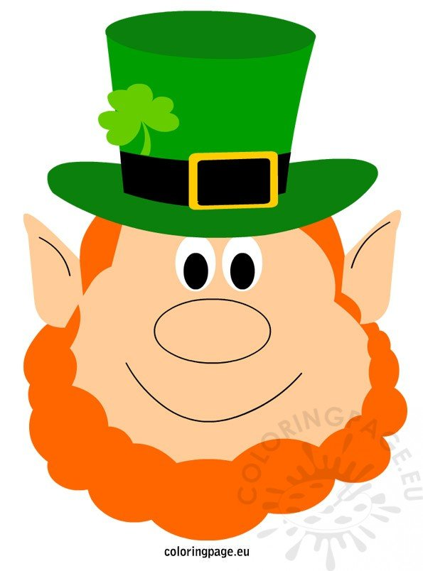 St Patricks Day Leprechaun Coloring Page