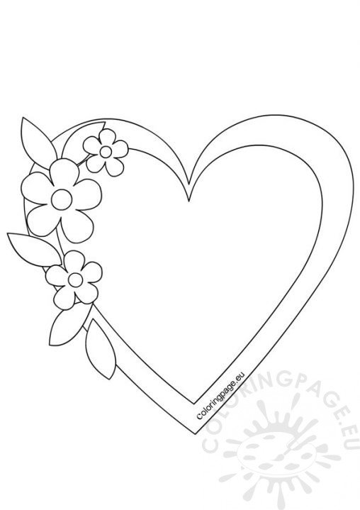 Valentines day coloring page, i love you coloring pages printable