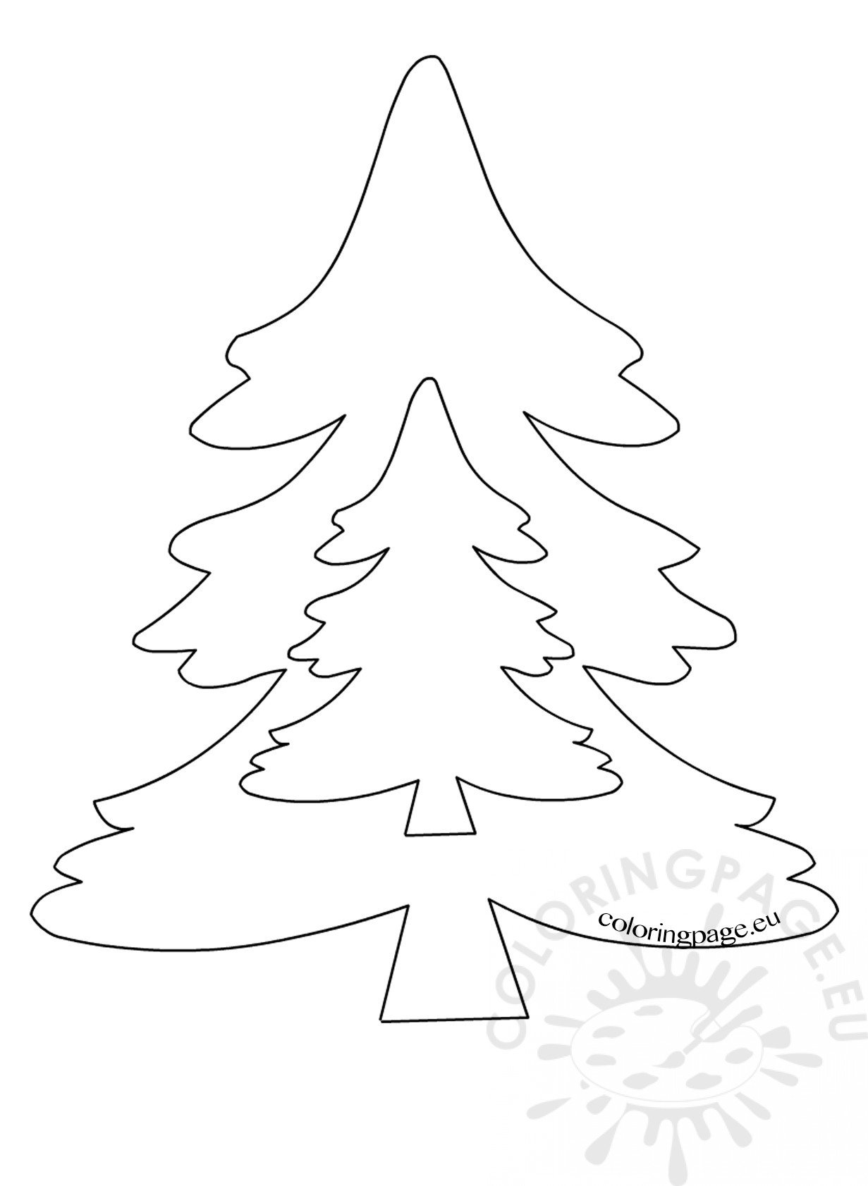 Patterns For Felt Christmas Tree Ornaments Coloring Page