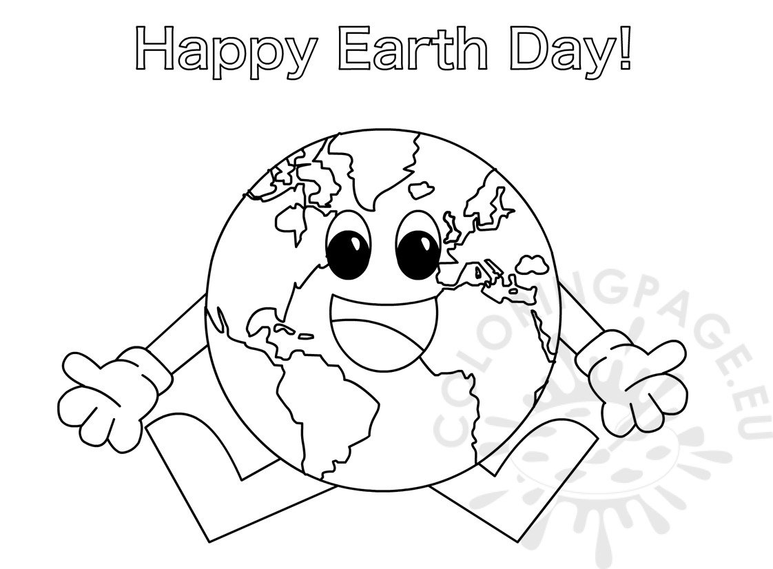 Earth Day Coloring Pages For Preschoolers Coloring Pages
