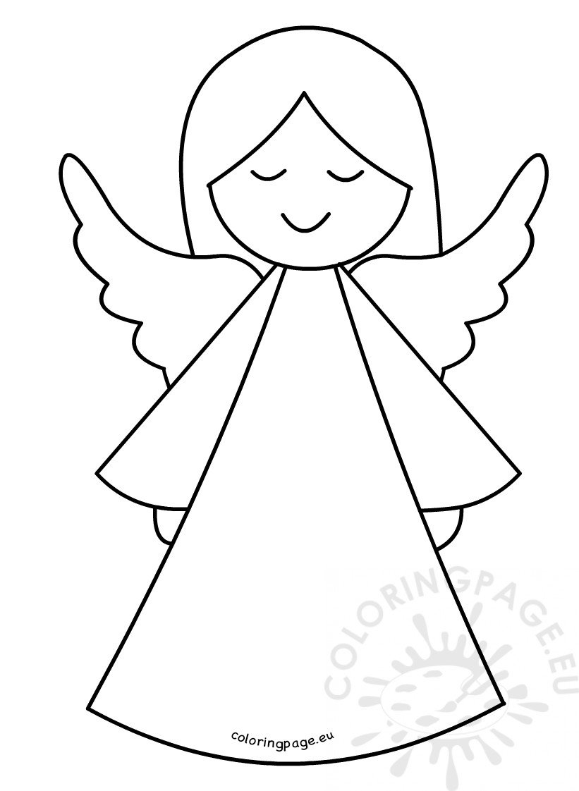 Topper Template Free Angel Printable Tree