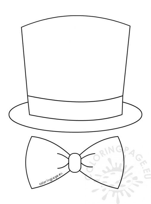 Bow Tie Cut Out Template
