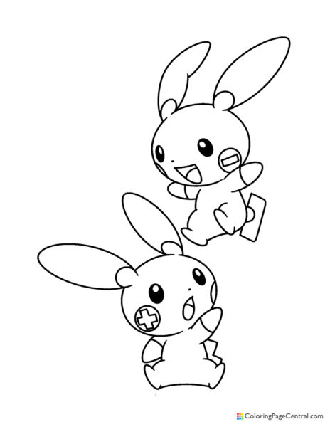 Pokemon Ash Coloring Page 01 Coloring Page Central