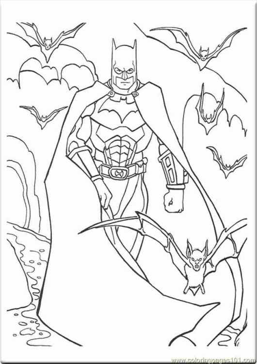 xv454 batman coloring pages dark knight 454