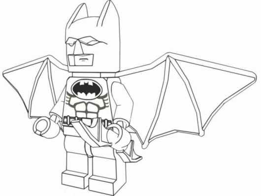 lego batman 2 coloring pictures