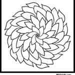 printable coloring pages of flowers for adults