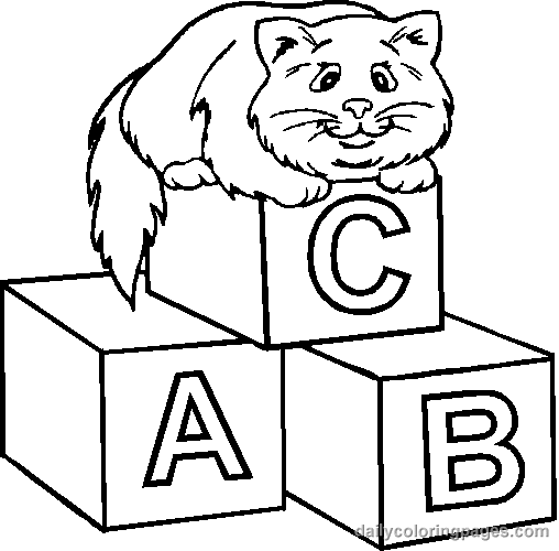 cat-with-alphabets-coloring-pages