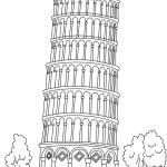 leaning-tower-of-pisa-coloring-pages