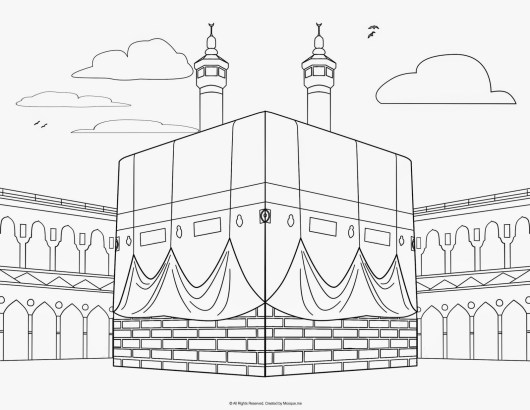 mecca-coloring-pages