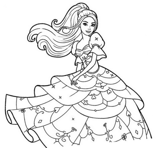 barbie-coloring-pages