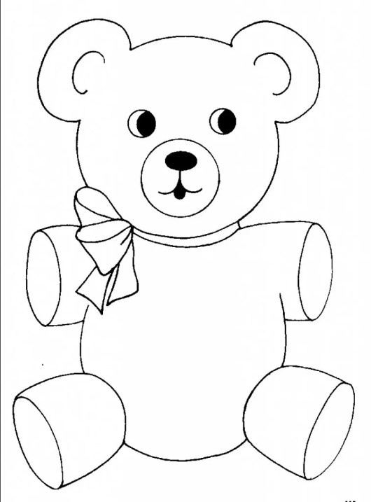 Teddy-Bear-Coloring-Pages