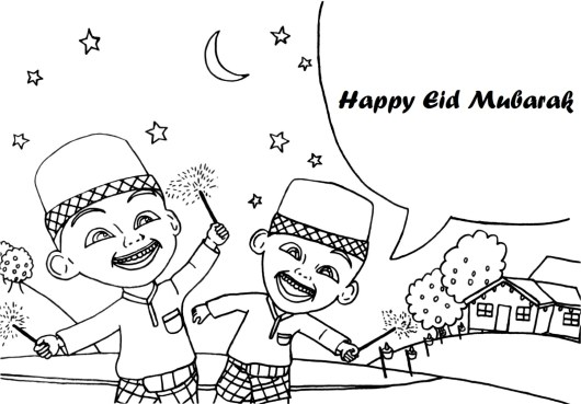 happy-eid-upin-ipin-coloring-pages