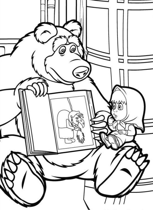 masha-and-the-bear-03-coloring-pages