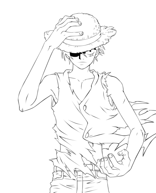 one-piece-luffy-coloring-pages