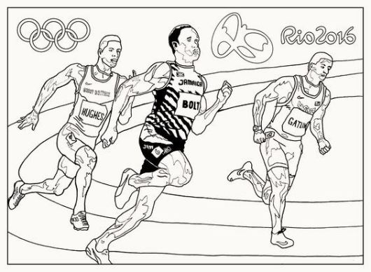 running-olympic-rio-2016-coloring-pages