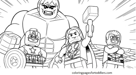 lego coloring pages for boys
