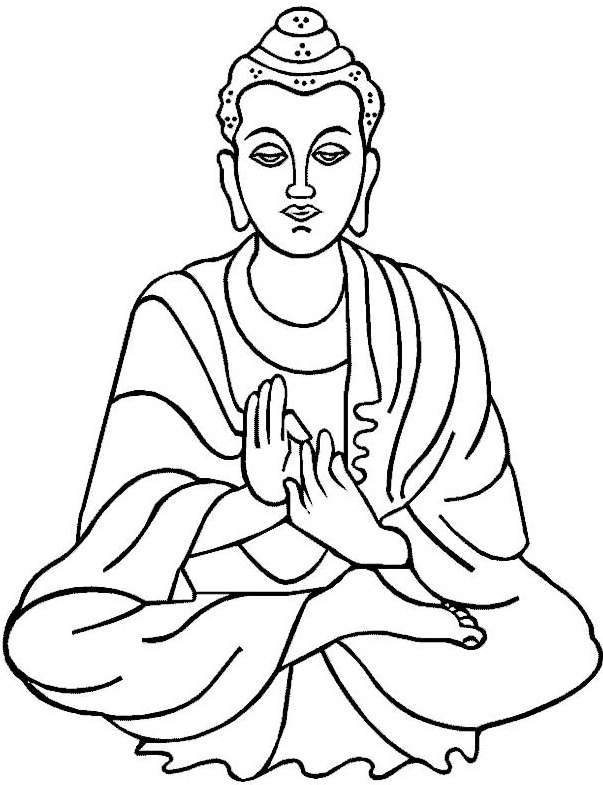 buddhist-coloring-sheets
