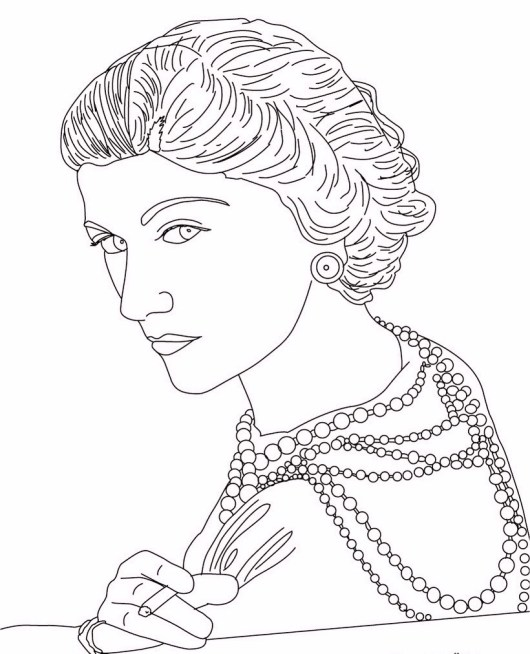 coco-chanel-coloring-pages