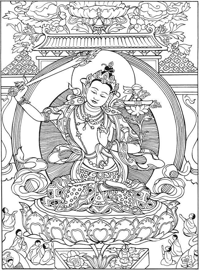 freeprintable-budhism-coloring-pages