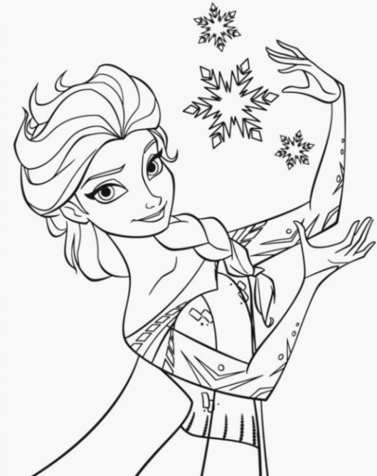 printable-elsa-coloring-page