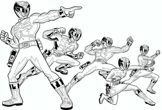 new-power-rangers-2017-coloring-pages