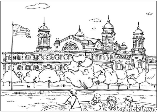 ellis_island_new_york_coloring_page