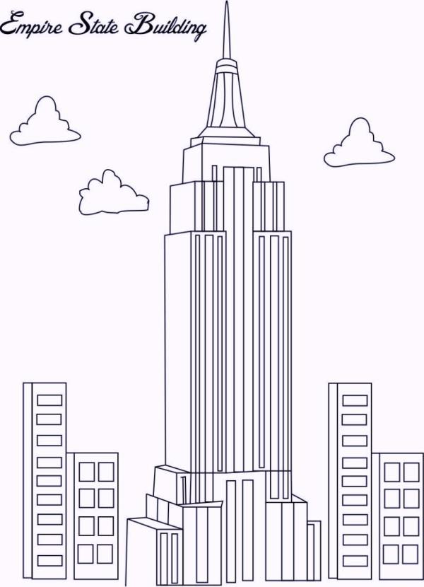 new york coloring pages # 51
