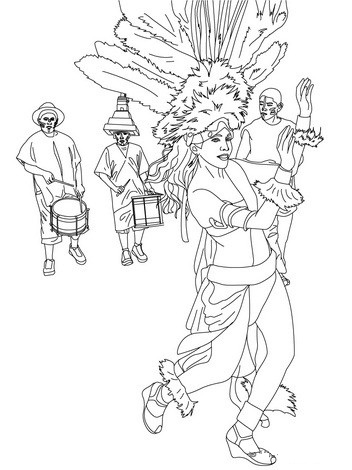 fashion-carnival-on-the-street-coloring-pages