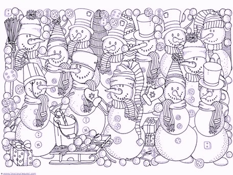 snow-doll-winter-coloring-pages