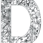 coloring_pages_animal_plant_abc_alphabet_D