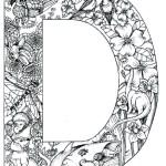 coloring_pages_animal_plant_abc_alphabet_D