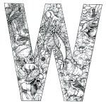coloring_pages_animal_plant_abc_alphabet_W