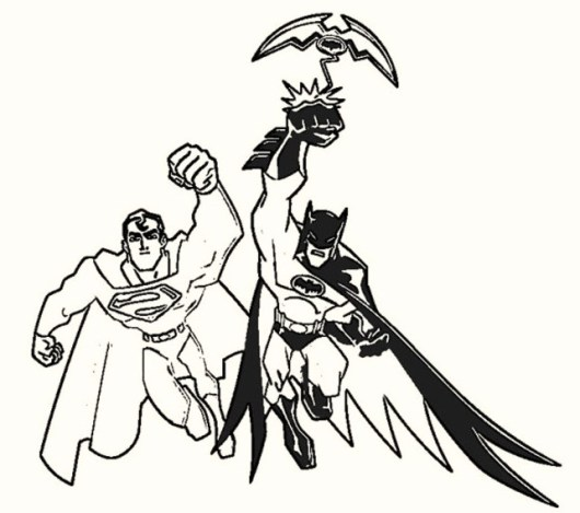 batman-vs-superman-coloring-sheets