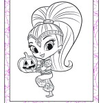 shimmer-and-Shine-Halloween-Theme-coloring-page