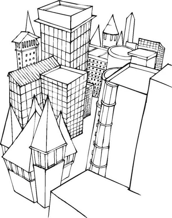 Lego-city-building-coloring-page