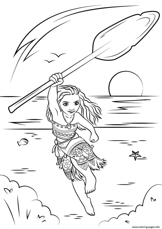 Moana-Colouring-books