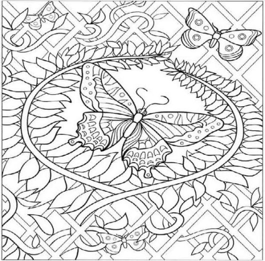 butterfly-mosaic-coloring-sheet