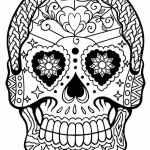 calavera-mask-coloring-online