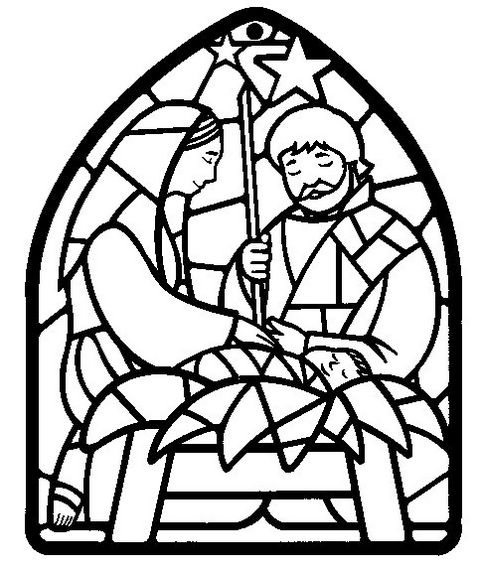 christmas-stained-glass-coloring-picture