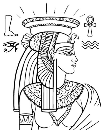 Top 18 Zentangle Egyptian Coloring Pages Coloring Pages