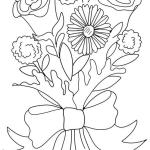 flower-bouquet-for-wedding-coloring-page