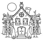 ghost-house-coloring-page