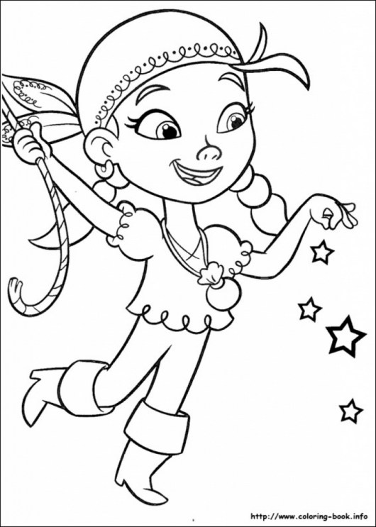 Full Resolution Jake And The Never Land Pirates Coloring Pages