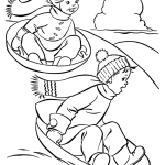 kids-playing-with-friends-in-winter-coloring-page